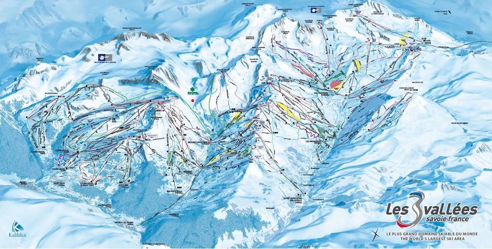 location ski 3 vallees